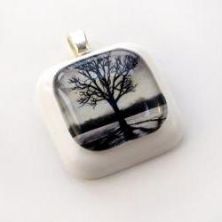 Black Tree Pendant
